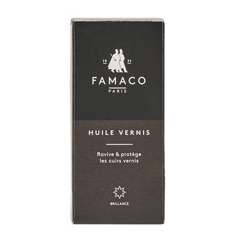 Doplňky  Péče o obuv Famaco FLACON HUILE VERNIS 100 ML FAMACO NOIR Černá