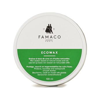 Doplňky  Péče o obuv Famaco BOITE DE GRAISSE ECO / ECO WAX 100 ML FAMACO Bílá