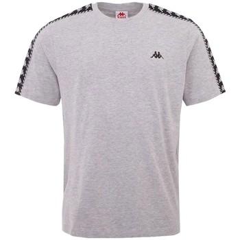 Textil Muži Trička s krátkým rukávem Kappa Ilyas T-Shirt Šedá