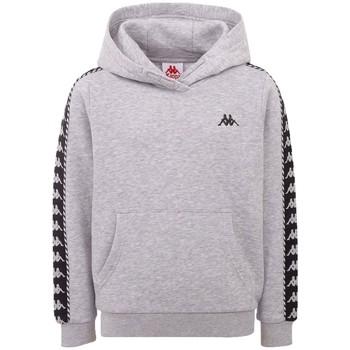Textil Muži Teplákové bundy Kappa Igon Sweatshirt Šedá