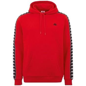 Textil Muži Teplákové bundy Kappa Igon Sweatshirt Červená
