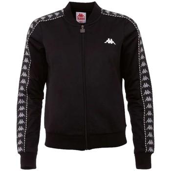 Textil Ženy Teplákové bundy Kappa Imilia Training Jacket Černá
