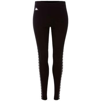 Textil Ženy Legíny Kappa Isadoma Leggings Černá