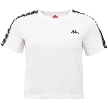 Textil Ženy Trička s krátkým rukávem Kappa Inula T-Shirt Bílá