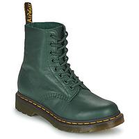 Boty Ženy Kotníkové boty Dr Martens 1460 PASCAL Zelená