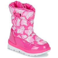 Boty Dívčí Zimní boty Agatha Ruiz de la Prada APRESKI Růžová