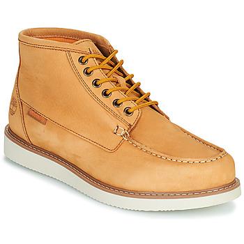 Boty Muži Kotníkové boty Timberland NEWMARKET II BOAT CHUKKA Žlutá