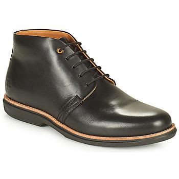 Boty Muži Kotníkové boty Timberland CITY GROOVE CHUKKA Černá