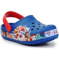 Boty Chlapecké Sandály Crocs FL Paw Patrol Band Clog 205509-4GX red, navy