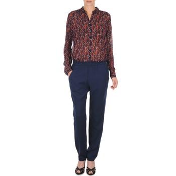 Textil Ženy Turecké kalhoty / Harémky Marc O'Polo ALBA Modrá / Červená