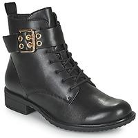 Boty Ženy Kotníkové boty Tamaris MOULIB Černá