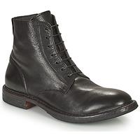Boty Muži Kotníkové boty Moma MINSK Černá