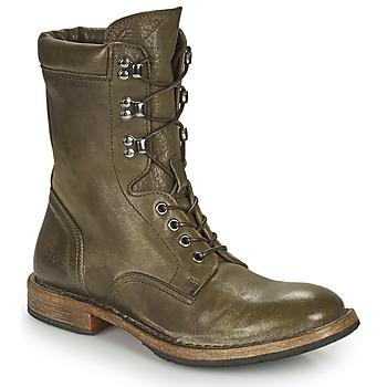 Boty Ženy Kotníkové boty Moma MINSK Khaki