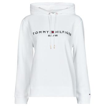 Textil Ženy Mikiny Tommy Hilfiger HERITAGE HILFIGER HOODIE LS Bílá