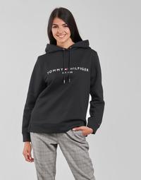 Textil Ženy Mikiny Tommy Hilfiger HERITAGE HILFIGER HOODIE LS Černá