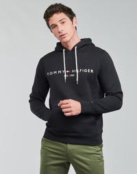Textil Muži Mikiny Tommy Hilfiger TOMMY LOGO HOODY Černá