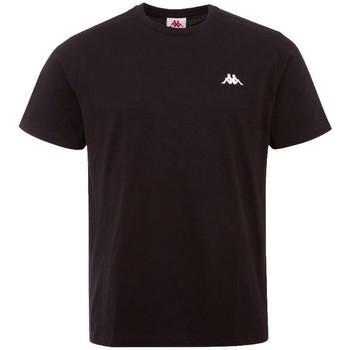 Textil Muži Trička s krátkým rukávem Kappa Iljamor T-Shirt Černá