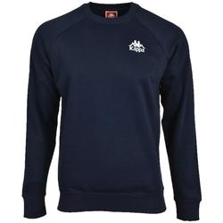 Textil Muži Mikiny Kappa Taule Sweatshirt Modrá