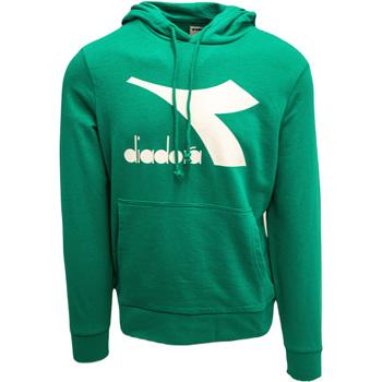 Textil Muži Mikiny Diadora Big Logo Zelená