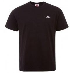 Textil Muži Trička s krátkým rukávem Kappa Iljamor černá