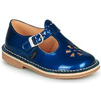 Boty Dívčí Sandály Aster DINGO Modrá