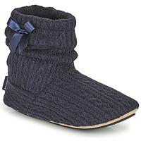 Boty Ženy Papuče Isotoner 97720 Tmavě modrá