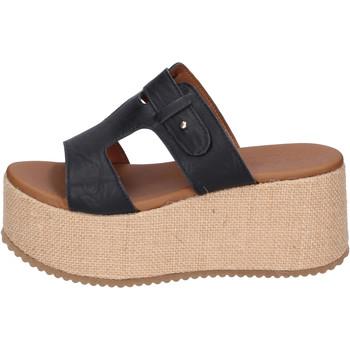Boty Ženy Dřeváky Sara Collection Sandály BJ922 Černá