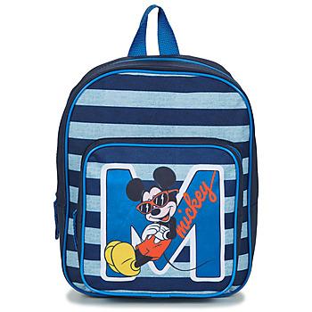 Taška Chlapecké Batohy Disney SAC A DOS MICKEY 31 CM Tmavě modrá
