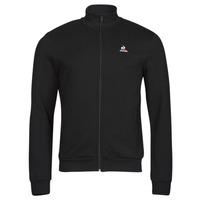 Textil Muži Teplákové bundy Le Coq Sportif ESS FZ SWEAT N 3 M Černá