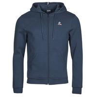 Textil Muži Teplákové bundy Le Coq Sportif ESS FZ HOODY N 3 M Tmavě modrá
