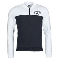 Textil Muži Teplákové bundy Le Coq Sportif SAISON 2 FZ SWEAT N 1 Tmavě modrá / Bílá