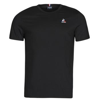 Textil Muži Trička s krátkým rukávem Le Coq Sportif ESS TEE SS N 3 M Černá
