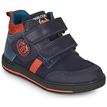 Boty Chlapecké Kotníkové boty Pablosky 503523 Modrá