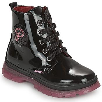 Boty Dívčí Kotníkové boty Pablosky 404019 Černá