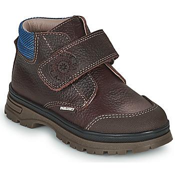 Boty Chlapecké Kotníkové boty Pablosky 502993 Hnědá