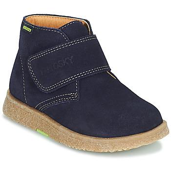 Boty Chlapecké Kotníkové boty Pablosky 502228 Tmavě modrá