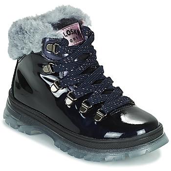 Boty Dívčí Kotníkové boty Pablosky 404429 Tmavě modrá