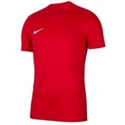Textil Muži Trička s krátkým rukávem Nike Park VII Tee červená