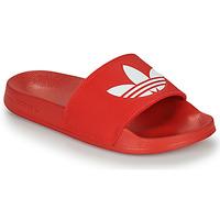 Boty pantofle adidas Originals ADILETTE LITE Červená