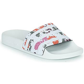 Boty Ženy pantofle adidas Originals ADILETTE W Bílá