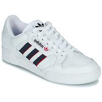 Boty Nízké tenisky adidas Originals CONTINENTAL 80 STRI Bílá / Modrá / Červená