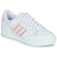 Boty Ženy Nízké tenisky adidas Originals CONTINENTAL 80 STRI Bílá / Růžová