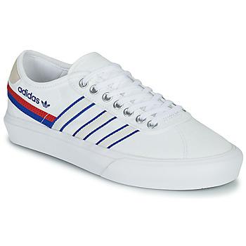 Boty Nízké tenisky adidas Originals DELPALA Bílá / Modrá