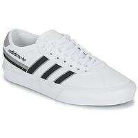 Boty Nízké tenisky adidas Originals DELPALA Bílá / Černá