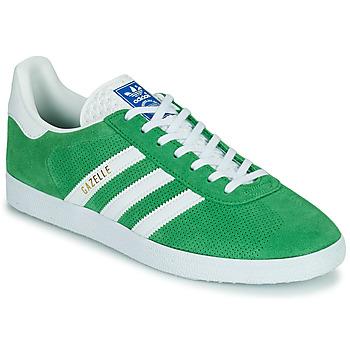 Boty Nízké tenisky adidas Originals GAZELLE Zelená