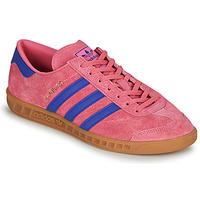 Boty Nízké tenisky adidas Originals HAMBURG Růžová / Modrá