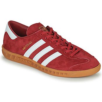 Boty Muži Nízké tenisky adidas Originals HAMBURG Červená