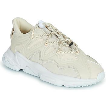 Boty Ženy Nízké tenisky adidas Originals OZWEEGO PLUS W Béžová