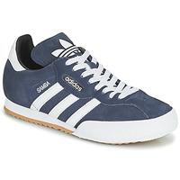 Boty Muži Nízké tenisky adidas Originals SUPER SUEDE Tmavě modrá / Modrá