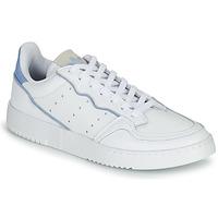 Boty Nízké tenisky adidas Originals SUPERCOURT Bílá / Modrá